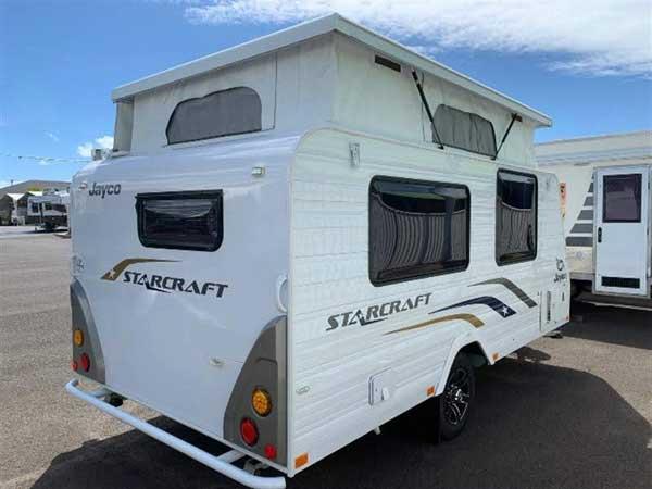 A Jayco Starcraft Caravan