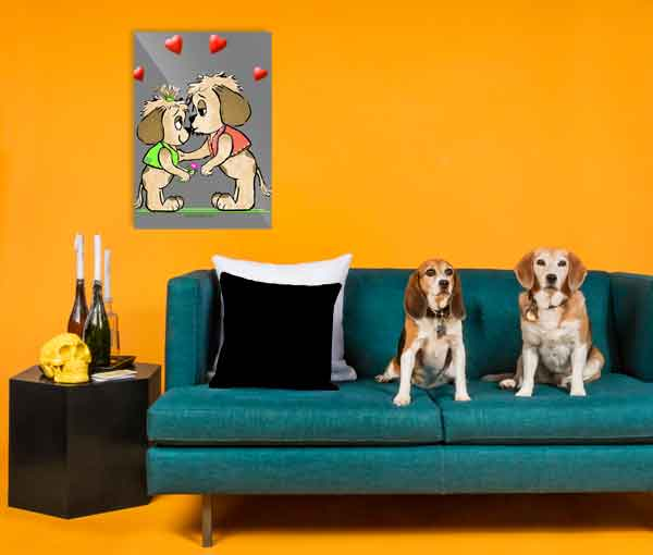 Cute Dog Designs on Gifts